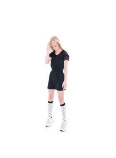 Frankie & Liberty Girls Jewi dress Color: black