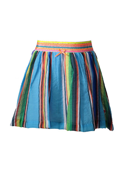 Kidz Art Woven skirt multicolor stripes