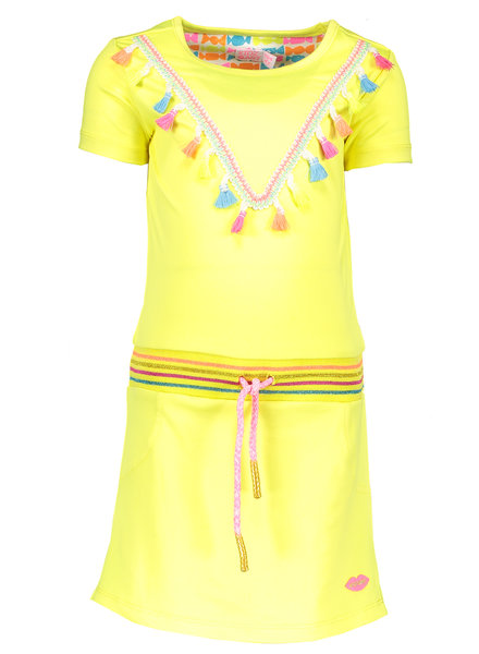 Kidz Art Dress neon yellow