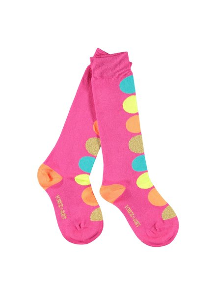 Kidz Art Knee high socks dots