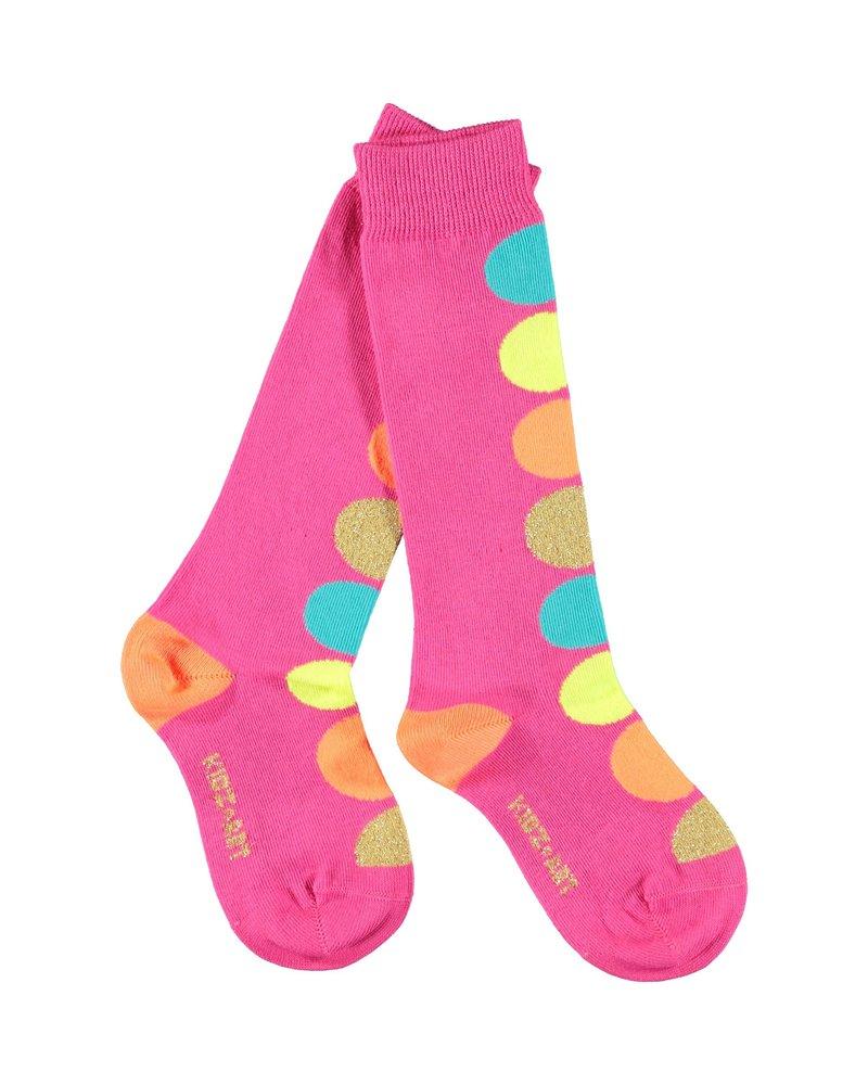 Kidz Art Knee high socks dots