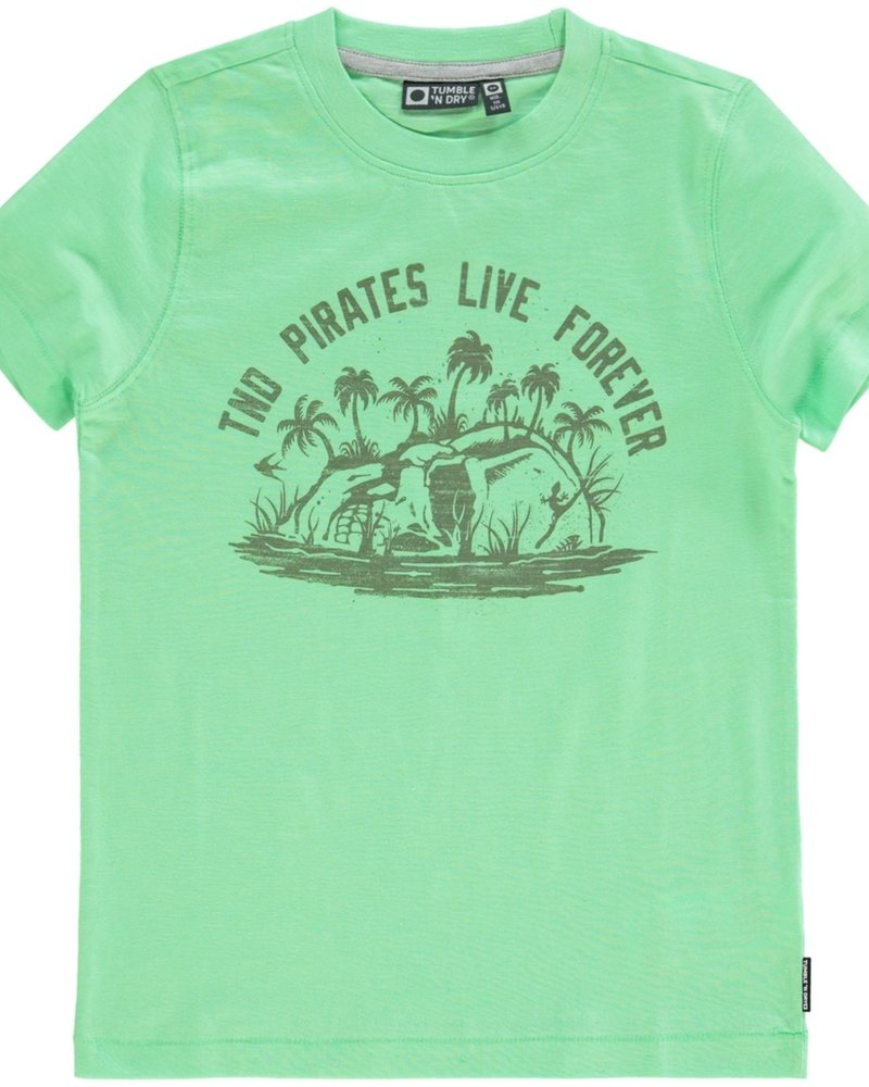 Tumble 'n Dry Boys T.Shirt Donia Color: summer green