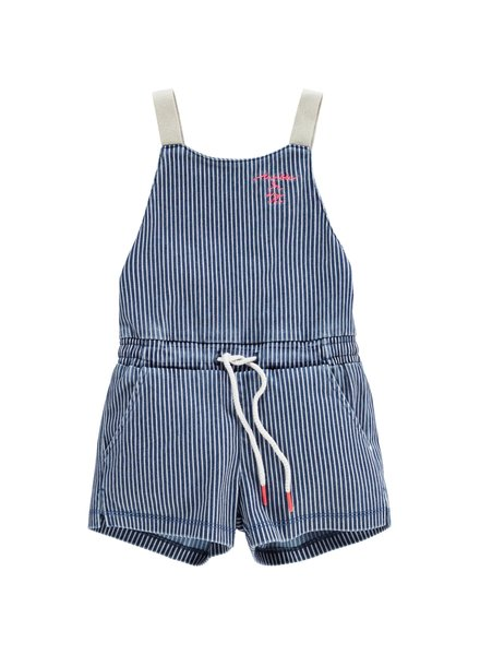 Tumble 'n Dry Girls Jumpsuit Chelsea Color: blauw/wit gestreept