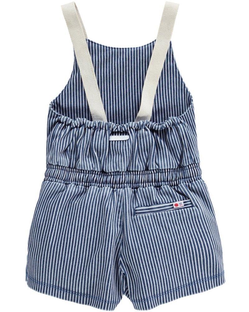 Tumble 'n Dry Girls Jumpsuit Chelsea Color: blauw/wit gestreept