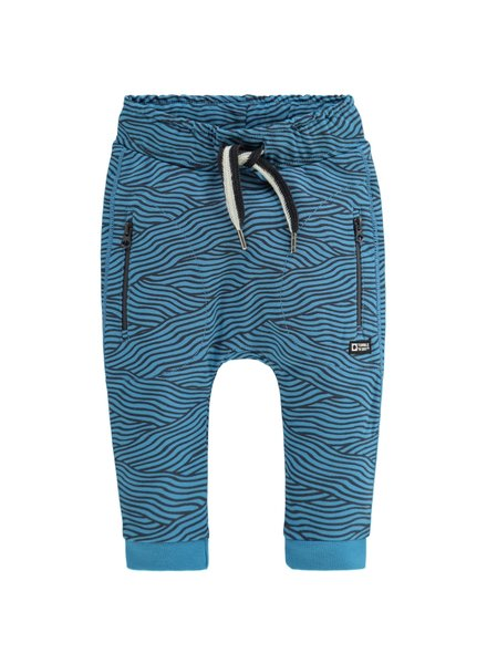 Tumble 'n Dry Bays jogg met zeewier print Color: blue