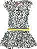 Waaaw Boat neck dress with wide skirt
