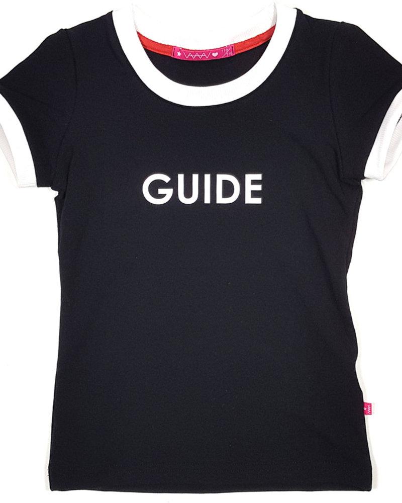 Waaaw T-shirt met print zwart