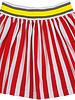 Waaaw Wide skirt rood/wit