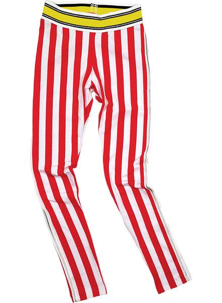 Waaaw Legging rood-wit