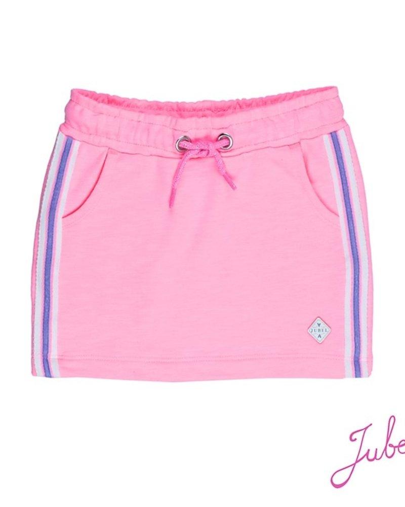 Jubel Girls Rokje in Uni discodip Color: roze