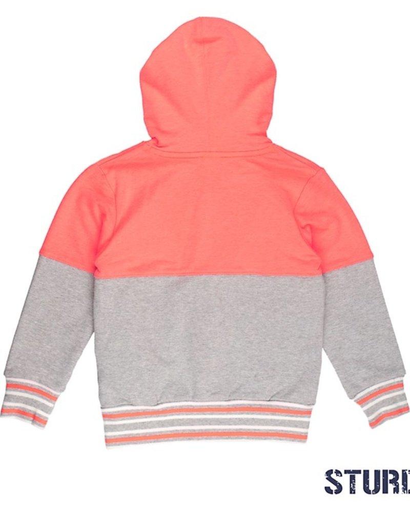 Sturdy Boys Vest+Capuchon Pool party Color: neon oranje