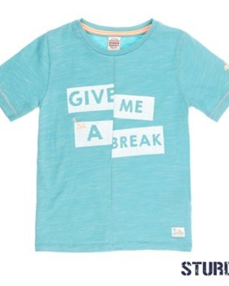 Sturdy Boys T.shirt k/m give me a break Pool Party Color: mint