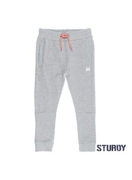 Sturdy Boys Broek Uni Pool Party Color: grijs melange