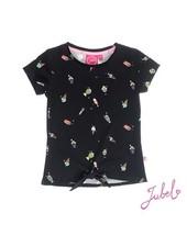 Jubel Girls T.Shirt k/m Disco Dip Color black
