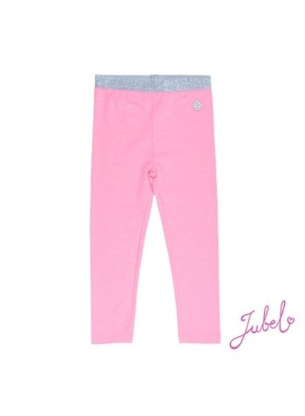 Jubel Girls Legging  Discodip Color: roze