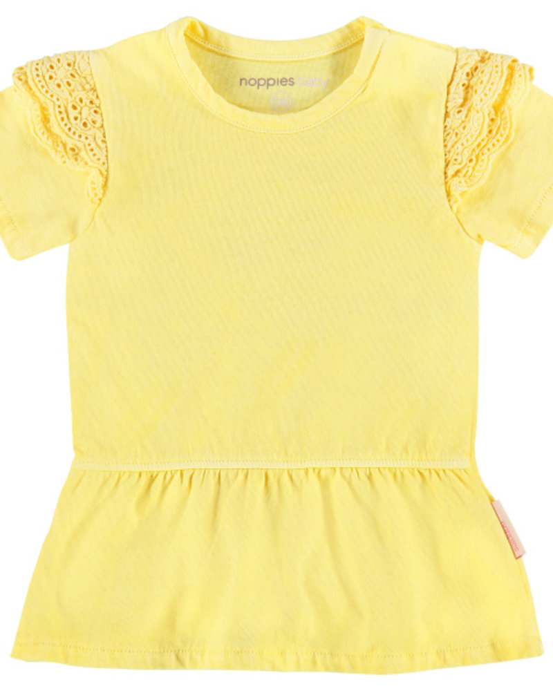 Noppies Girls dress Sparks: Color: limelight