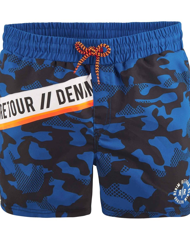 Retour Zwemshort Remy - blue