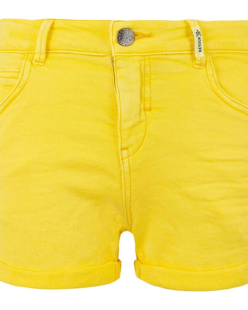Retour Short Yolanthe - bright yellow