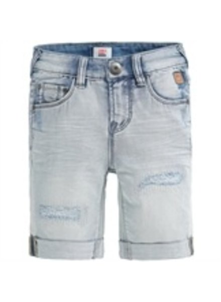 Tumble 'n Dry Boys jeansshort Folo Color: lightblue