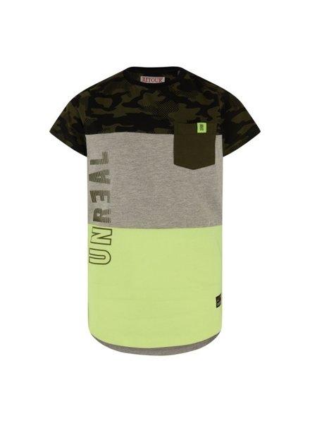 Retour Boys T.Shirt Gavin Color: neon yellow