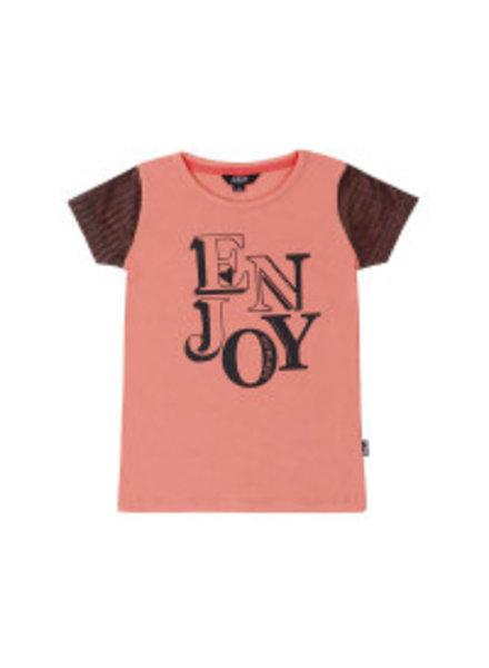 Little Miss Juliette Girls T.Shirt Enjoy Color: CRL