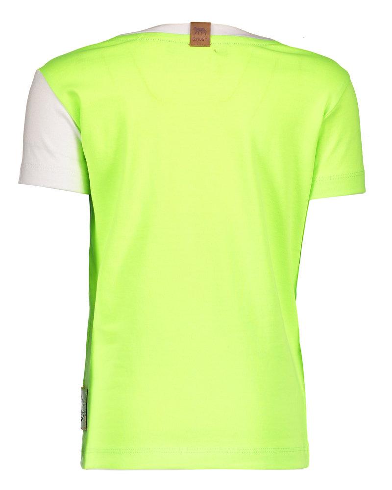 B.nosy Boys shirt neon yellow
