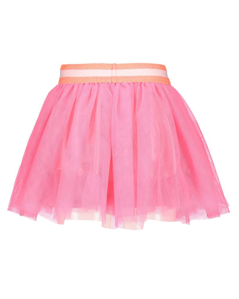 B.nosy Girls netting skirt - candy