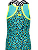 B.nosy Girls singlet with elastic - turquoise