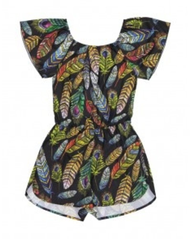 Frankie & Liberty Girls Playsuit Kim Color: multi color