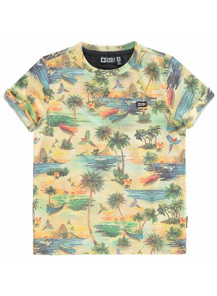 Tumble 'n Dry Boys T.Shirt Dellis Color: orange