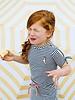 Tumble 'n Dry Girls Dress Catskill Color: mood indigo