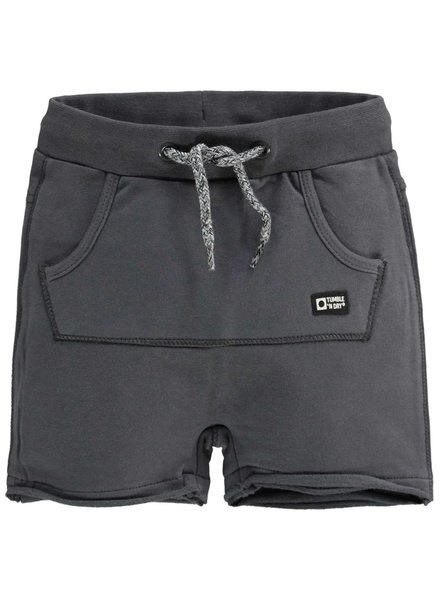 Tumble 'n Dry Boys korte jog broek Color: grey dark