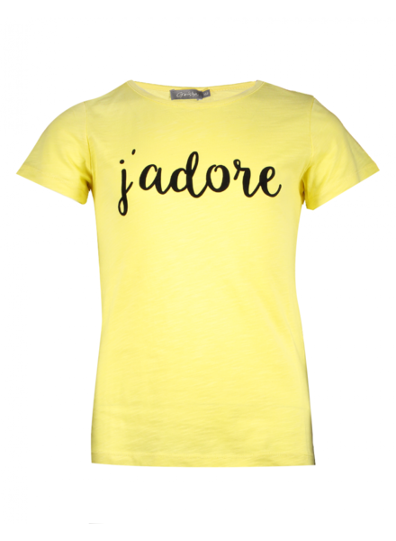 Geisha T-shirt yellow