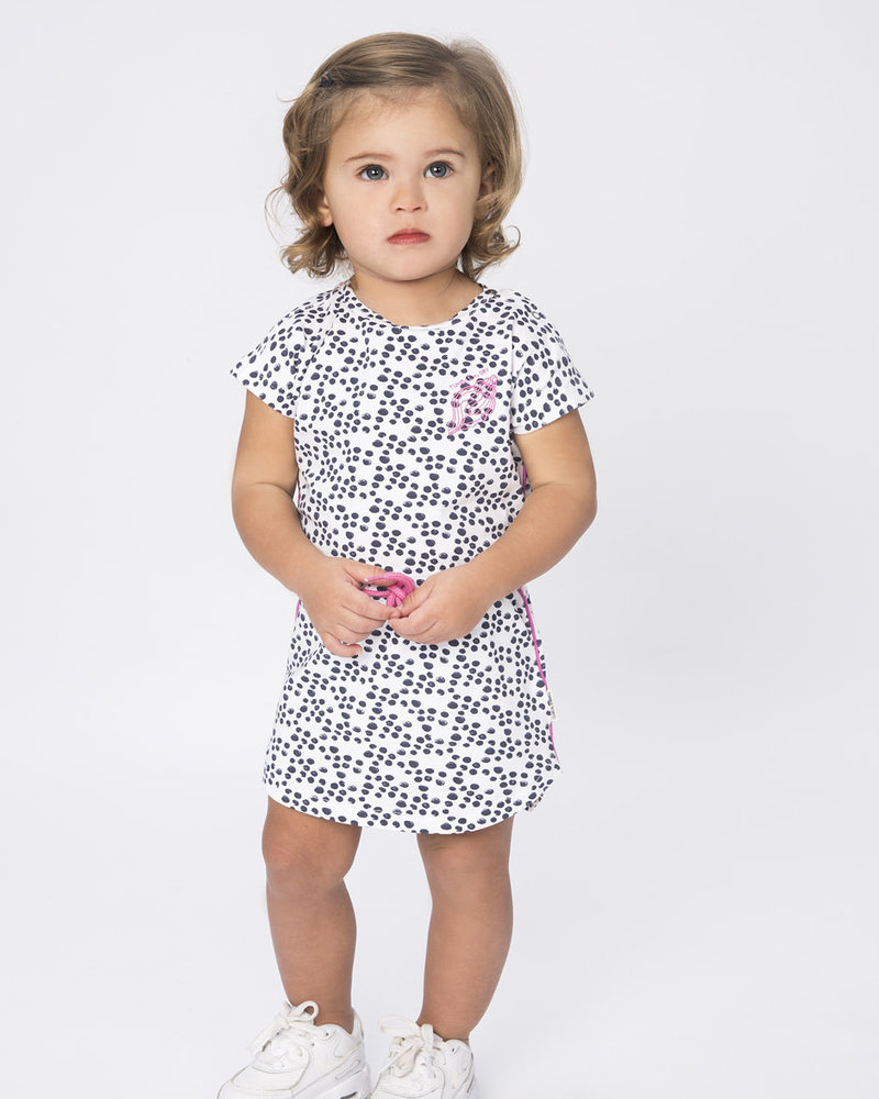 Tumble 'n Dry Baby Girls Dress Color: White