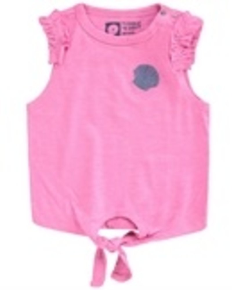 Tumble 'n Dry Girls mouwloze Top: Color: pink