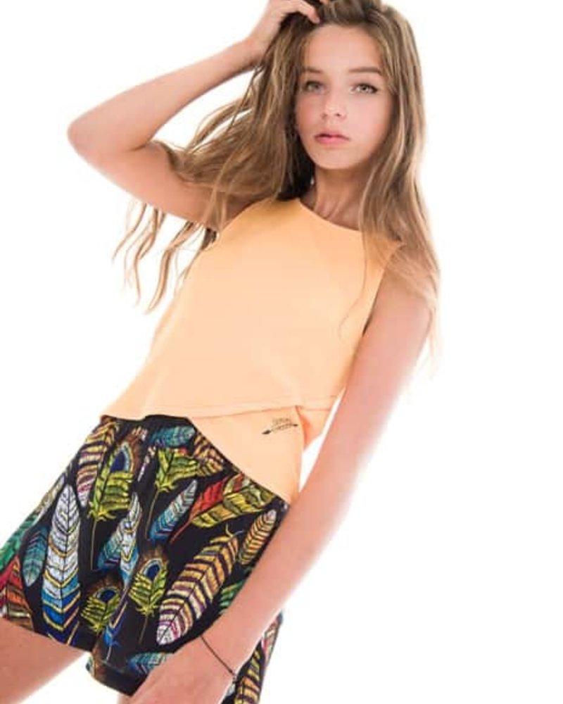 Frankie & Liberty Girls Tee Kelis Color: orange