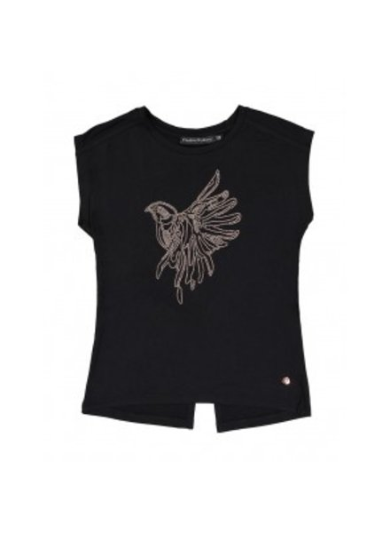 Frankie & Liberty Girls Tee Kate Color: black