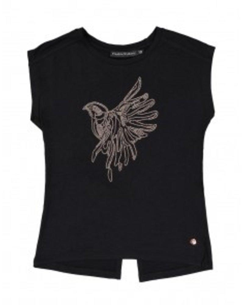 Frankie & Liberty Girls Tee Kate Color: black