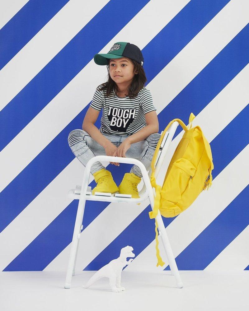 Z8 Boys T.shirt Davy Color: green/bright white stripes