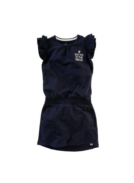 Z8 Baby girls dress Tineke Color: Royal blue