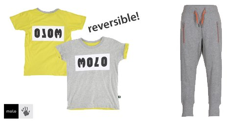 Shop the look! Molo reversible shirt