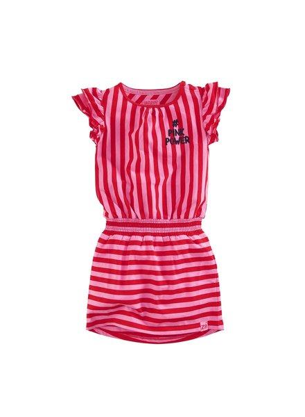 Z8 Girls dress Julia-Popping pink/Lipstick red
