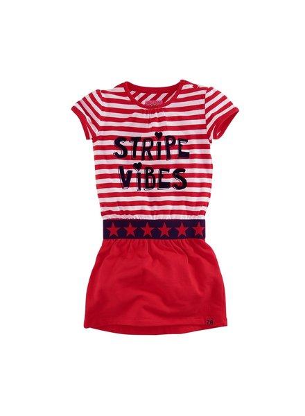 Z8 Girls Dress Yara-Lipstick red/Bright white