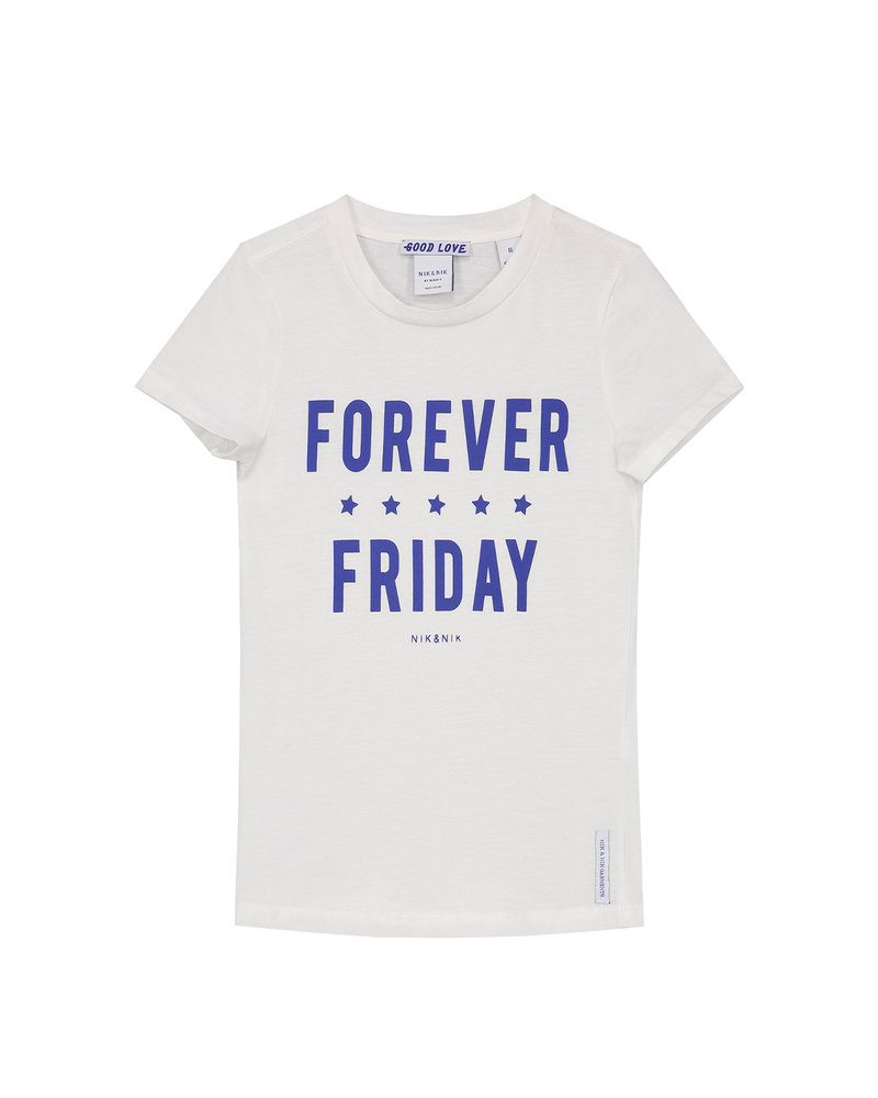 NIK & NIK Girls T.Shirt Forever Color:off-White