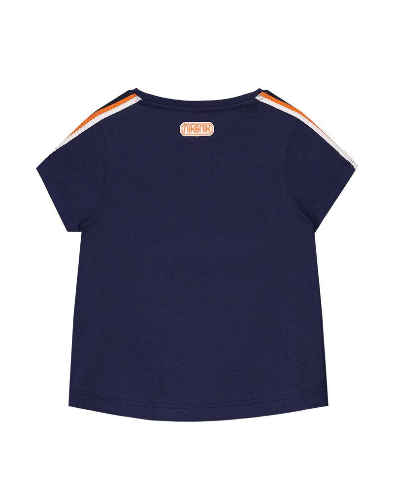 NIK & NIK Girls T.Shirt On Fire Color: dark blue