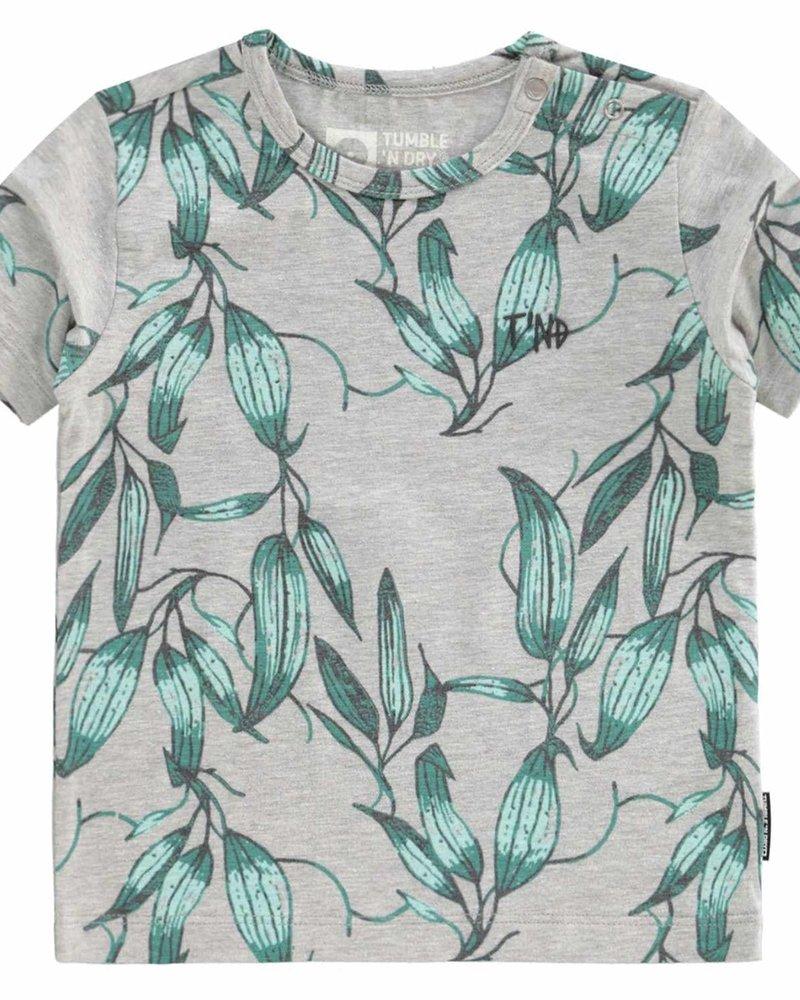 Tumble 'n Dry Boys T.shirt Aidan Color light grey melange