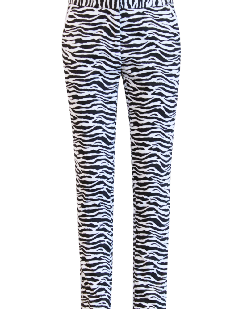 AI&KO Girls Pants Zebra Color: black/white