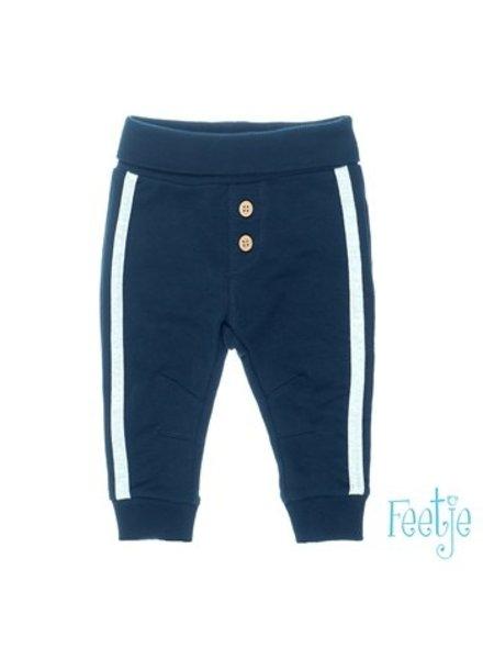 Feetje Boys broek met zijstreep Color: marine