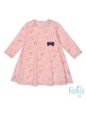 Feetje Girls Dress AOP Color: roze