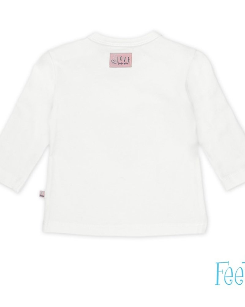 Feetje Girls longsleeve Color: offwhite